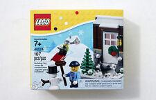LEGO Christmas Seasonal Winter Fun Set 40124 Diversión en la Nieve Navidad NEW