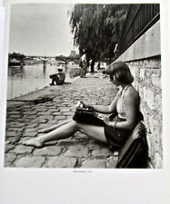 Robert Doisneau Poster  print Woman in halter top TYPIST 14x11