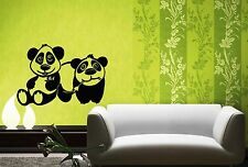 Wall Stickers Vinyl Decal For Kids Panda Baby Animal Nursery ig1448
