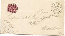 P6780   Avellinio, Severino, annullo numerale a sbarre 1887