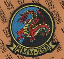 USMC Marine Corps HMM-268 Helicopter Avaition patch