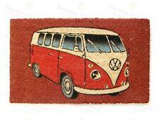 VW Camper Van Design Di Cocco Door Mat-Taglia 40cm x 70cm