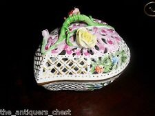 Herend Hungary heart shaped jewelry box richly decorated[7]