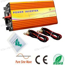 60HZ Pure Sine Wave Inverter 1500W Power Inverter 12V to 220V Off Grid Inverter