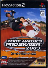 Used PS2 Tony Hawk's Pro Skater 2003 Japan Import (Free Shipping)