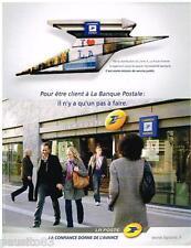 PUBLICITE ADVERTISING 105 2008  la BANQUE POSTALE de LA  POSTE