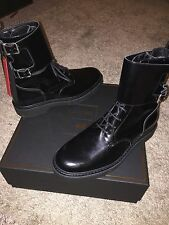 Balmain X H&M Patent Leather Boots Size 44
