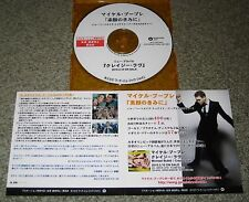 MICHAEL BUBLE Japan PROMO ONLY 2 track CD acetate HAVEN'T/HEARTACHE more listed