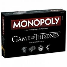 GAME OF THRONES monopolio COLLECTOR'S EDITION-NUOVO di zecca!