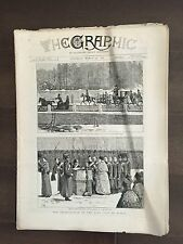 """""""THE GRAPHIC"""" (A Beautifully Illustrated British Weekly Newspaper)-Mar. 26, 1881"""