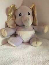 "Precious Moments - Tender Tails - Elephant Bean Bag 8"" Dated 2000 ENESCO - #7362"