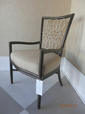 "McGUIRE FURNITURE M-268 BARBARA BARRY ""SCRIPT"" ARM CHAIR RATTAN  Retails  $3505"