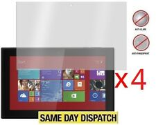 "4 X Nokia Lumia 2520 10.1"" Anti-Glare matte Screen Protectors Covers & Cloth"