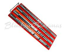 "80PC SLIDING SOCKET TOOL SET HOLDER RACK FIXED RAIL TRAY & HANDLE 1/4"" 3/8"" 1/2"""