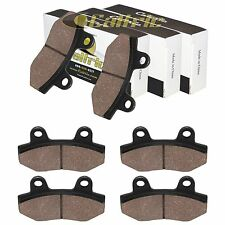 FRONT and REAR BRAKE PADS FIT HYONSUNG GT650 GT650TTC GT650R 2005-2016