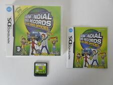LE MONDIAL DES RECORDS - NINTENDO DS - JEU DS DS LITE DSI COMPLET