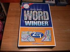 David Hoyt's Word Winder 2 in 1 Puzzle Games RaceWinder & SideWinder NEW Age 8+