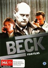 BECK - FOUR FILMS - VOLUME ONE - 2 DVD SET *BRAND NEW AND SEALED*