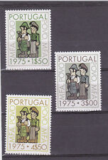 PORTUGAL SET CULTURAL PROGRESS AND CITIZENS GUIDANCE CAMPAIGN (1975)   MH