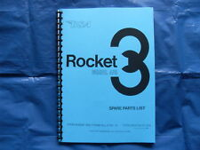 BSA ROCKET 3  PARTS BOOK FOR 1968 AND 1969 Mk1 MODELS