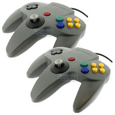 2 New Gray Long Handle Game Controller Pad Joystick for Nintendo 64 N64 System