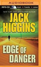 Sean Dillon: Edge of Danger 9 by Jack Higgins (2015, MP3 CD, Unabridged)