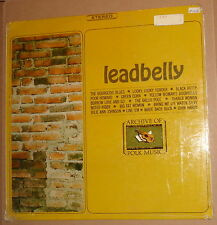 LEADBELLY : ARCHIVE OF FOLK MUSIC vinyl LP. FS-202.  Excellent.