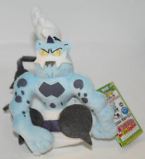 "Thundurus Pokemon Banpresto 4.5"" tall 47843 Plush 2012 with tags"