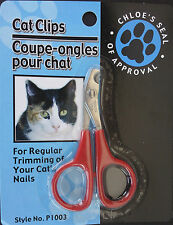 CAT CLIPS Stainless Steel Nail Claw Clippers for Cats Kittens Birds Small Puppy
