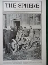1914 CAPTURED GERMAN TRENCH MORTARS RAMSCAPELLE YSER FRONT WW1 WWI