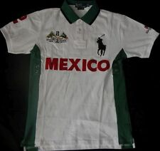 New Mens Ralph Lauren Big Pony Polo T-Shirt  Mexico, size XL