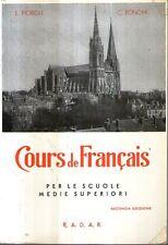 Mu41 Cours de francais Fiorioli Bonomi Radar ed. 1973