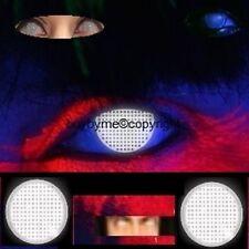 83005 lentille de couleur Blanche aveugle UV contact us lens blind white blanc