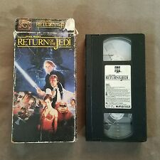 Return of the Jedi Star Wars Carrie Fisher  Harrison Ford VHS Video Tape