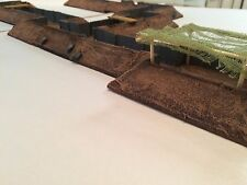 Wargaming Terrain Modular Trench Set Medium for Warhammer & Bolt Action