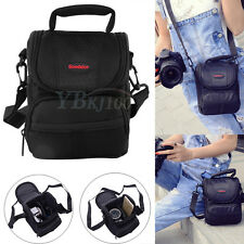 Nylon Anti-shock Camera Case Adjustable Shoulder Bag Backpack for Canon SLR DSLR
