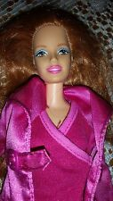 BARBIE DOLL RED HAIR MIDGE? DARK PINK OUTFEET HIGHT BOOTS PRETTY