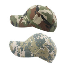 New Adjustable Military Hunting Fishing Hat Army Baseball Outdoor Cap UW