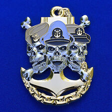 "US Navy Chief Petty Officer 1893 ""Ask the Chief"" USN CPO Pride Challenge Coin"