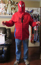 New with Tags Size Large Marvel Spiderman Hoodie Jacket