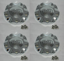 4 CAP DEAL NEW DUB ESINEM FLOATER 8220-15 CUSTOM WHEEL RIM CHROME CENTER CAPS