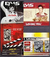 Guyana 2010 Elvis Presley 4 Blocks ** Loving You