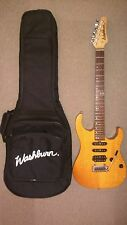WASHBURN MERCURY 2 ELECTRIC GUITAR WITH WASHBURN PADDED GIG BAG, BOX