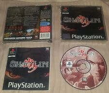 SHAOLIN - PlayStation 1 PS1 Gioco Game Play Station PSX