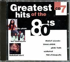 GREATEST HITS OF THE 80'S - VOLUME 7 - CD COMPILATION [737]