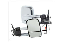Chrome Towing Mirrors Pair L & R 97-03 Ford F150 Power Heat & In-Glass Signal
