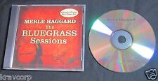MERLE HAGGARD 'THE BLUEGRASS SESSIONS' 2007 PROMO CD