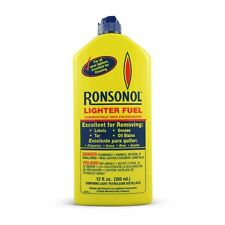Ronsonol Lighter Fluid Fuel 12-Ounce, Long Lasting, For All Wick  Lighters