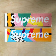 Supreme logo sticker vinyl decal skateboard laptop bogo Alessandro Mendini box