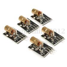 5Pz KY-008 Laser Testa Sensore da Trasmettitore Modulo Per Arduino AVR PIC